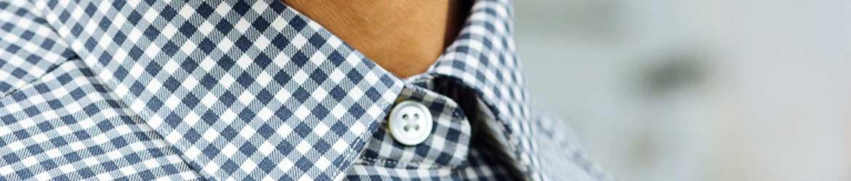 98e63e72faa6c Tout droit venu des sixties, le Vichy est l imprimé bicolor qui donne un  style sophistiqué et élégant à vos chemises tout en légèreté.