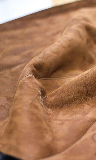 Couture du cuir