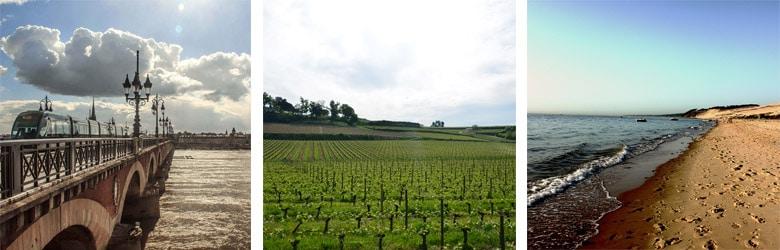 Bordeaux et paysages Gironde