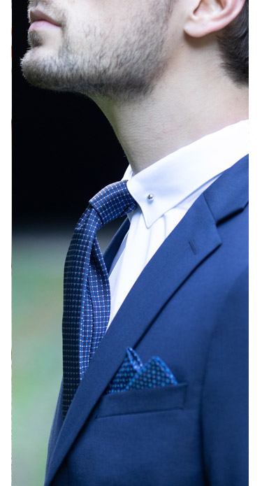 Chemise pin collar pinky blinders