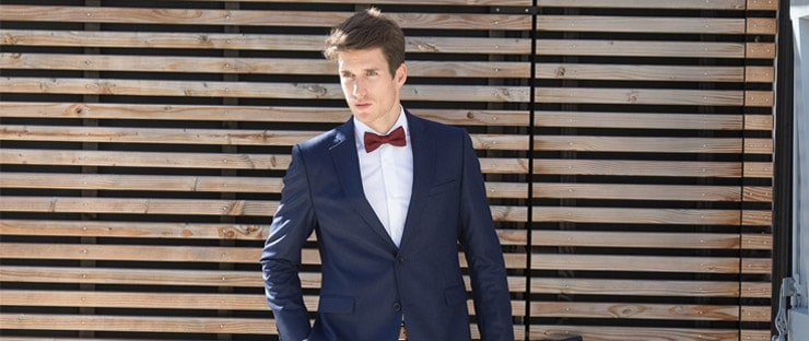 sea island cotton shirt bow tie