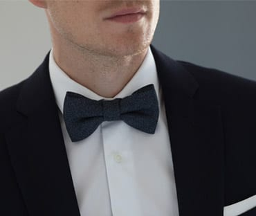 sea island shirt bow tie