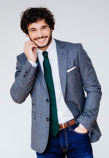 cravate grenadine soie verte