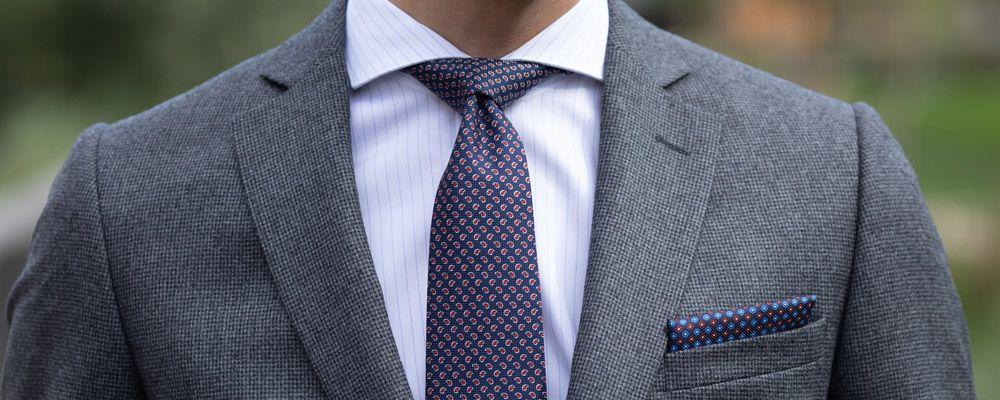 Cravates motifs cachemire