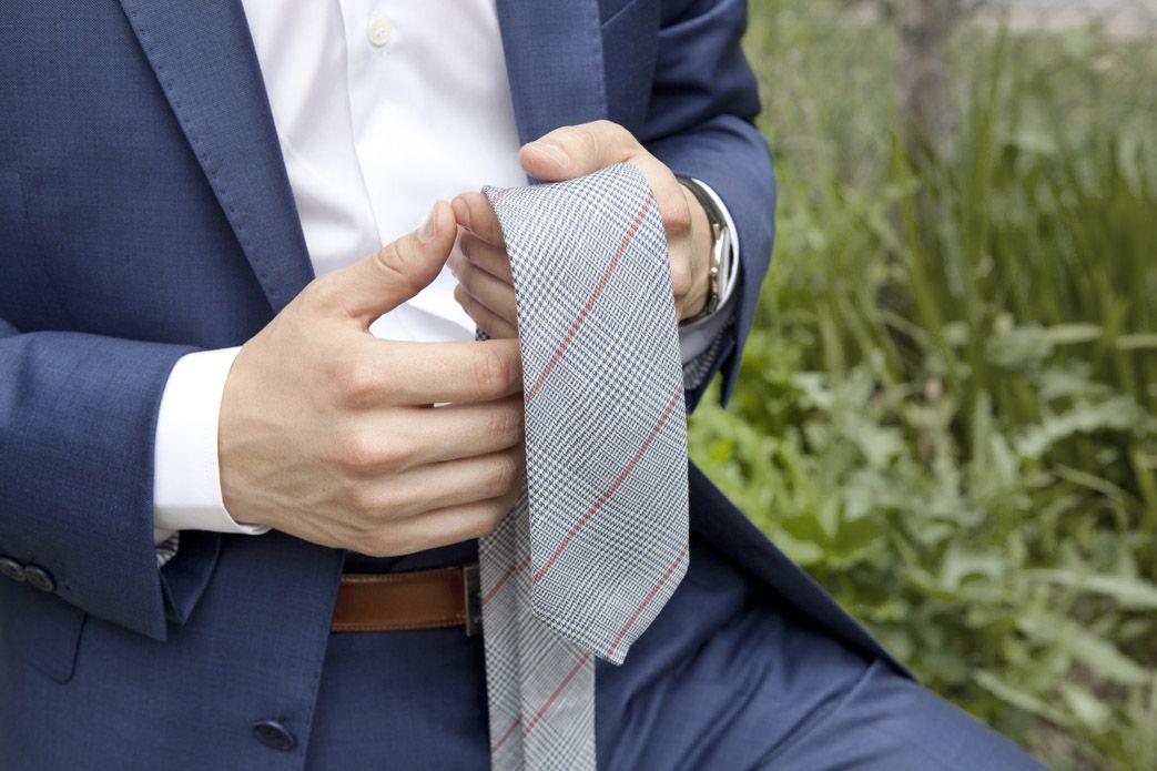 glencheck krawatten muster schottische eleganz the nines. Black Bedroom Furniture Sets. Home Design Ideas