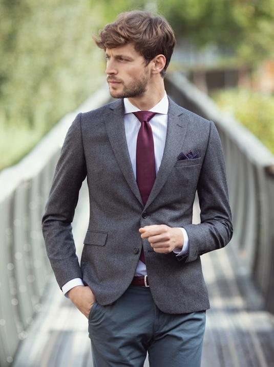 Guide de la cravate homme tissage
