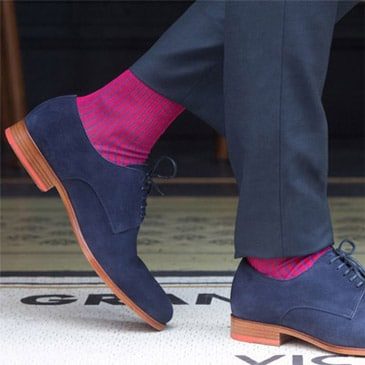 violette Socken