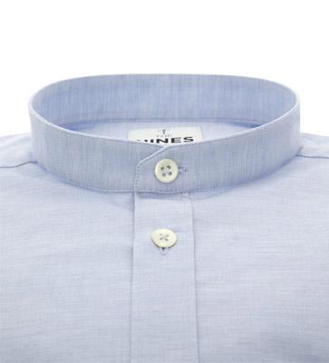 band-collar-shirt