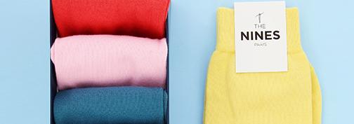 chaussettes colorées