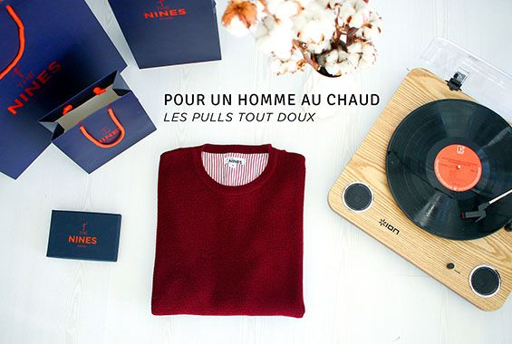 Pull homme chaud