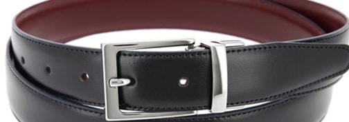 ceinture noire et bordeaux