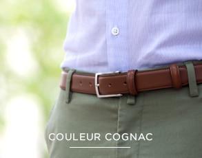 dca06cab8f8eb Ceintures homme par The Nines: ceintures en cuir, nubuck et ...