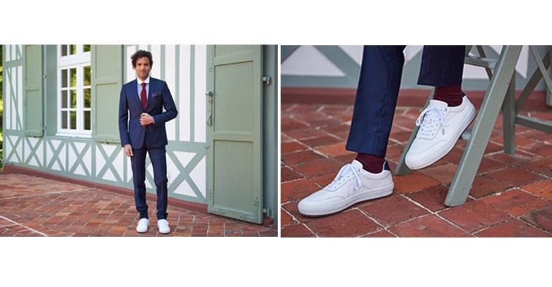 accorder chaussettes et cravate