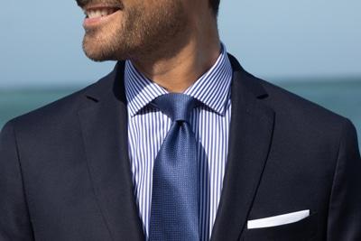 cravate motif japonais