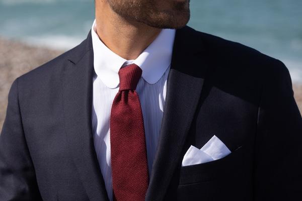 cravate grenadine de soie