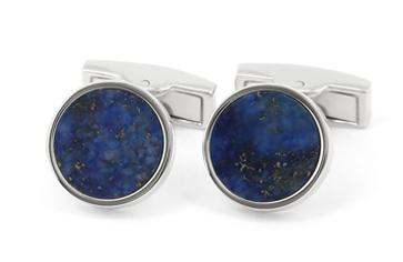 bouton de manchette en lapis-lazulis