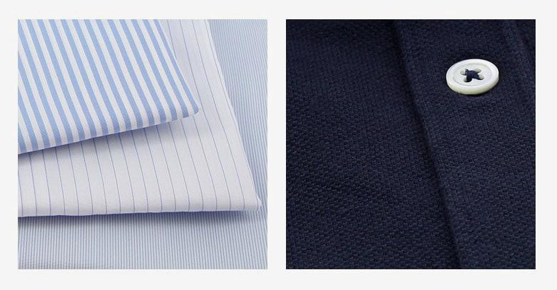 Guide de la chemise - motifs et tissages
