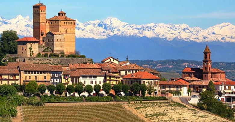Piemont en Italie