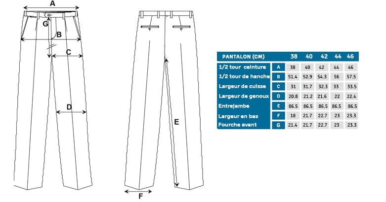 coupe pantalon THE NINES
