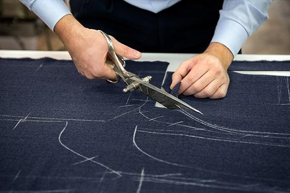 half-canvas suit