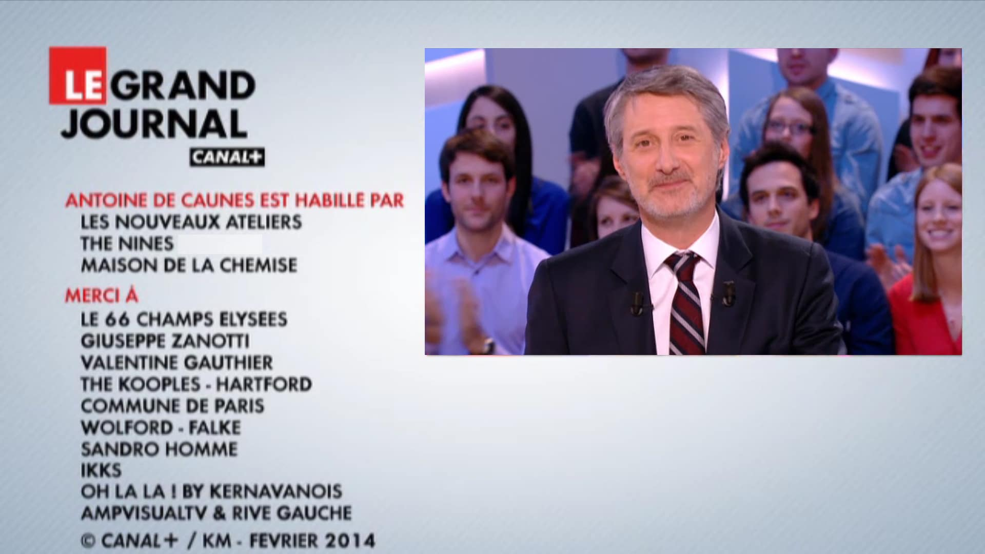 Le Grand Journal Antoine de Caunes
