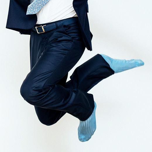 Chaussettes homme, mi-bas de qualité par The Nines - Le Chaussetier e683b34d6143