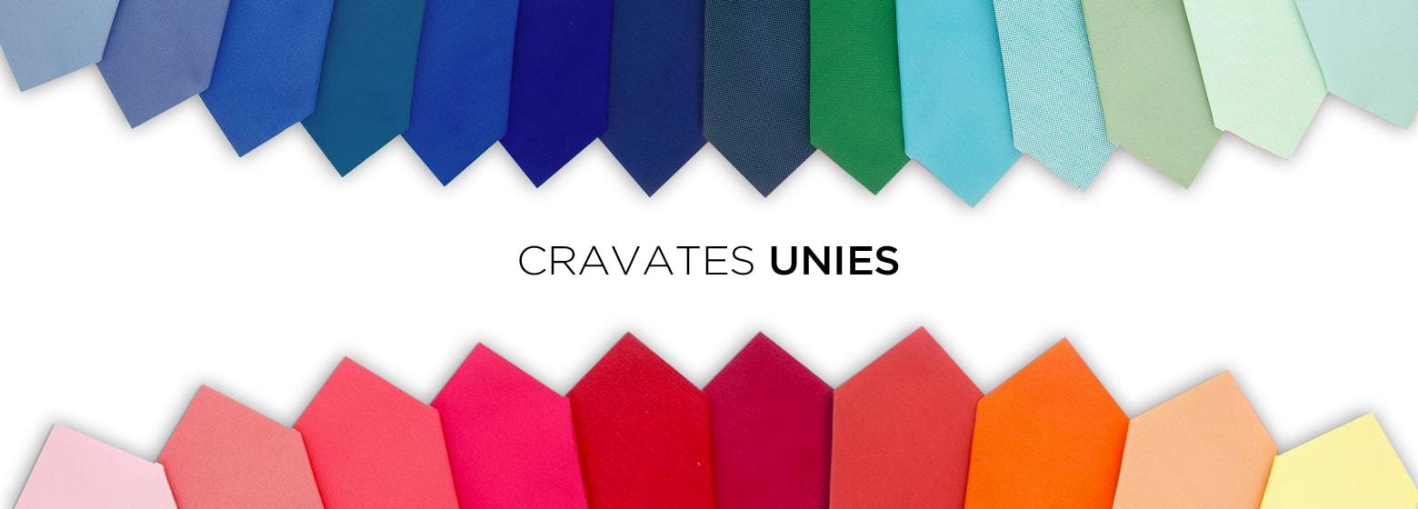 Cravate mariage couleurs