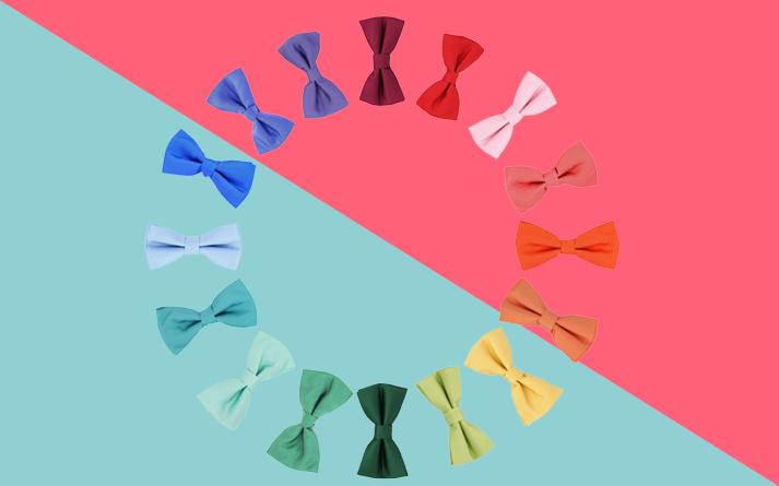 noeud papillon couleurs