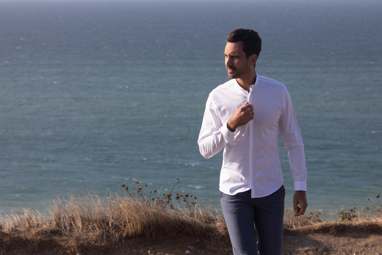 The wrinkle resistant shirt