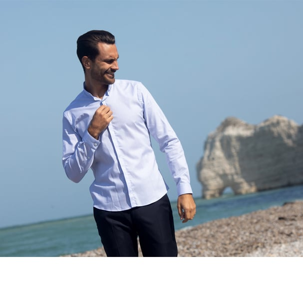 chemise infroissable coupe