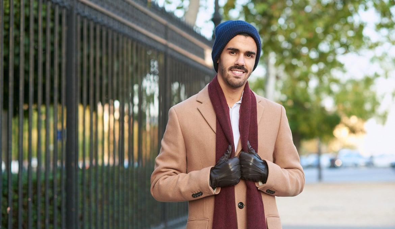 gants portables cuir