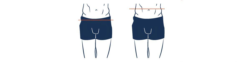 tour de hanche et tour de taille