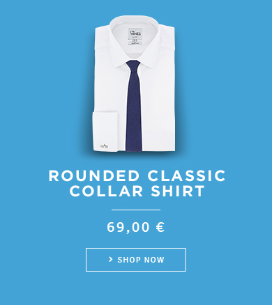 Rounded Classic Collar