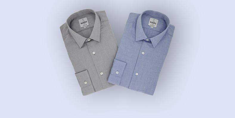 chemise coton brossé