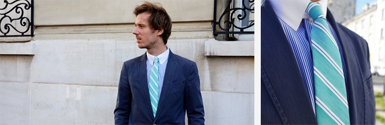 c6bd28bc3e0ce Assortir sa cravate à sa chemise - THE NINES