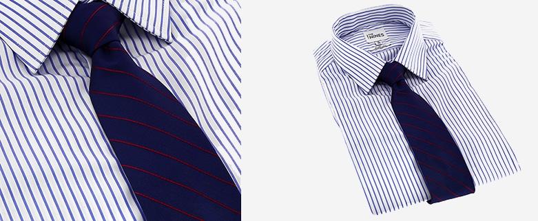assortir sa cravate sa chemise the nines. Black Bedroom Furniture Sets. Home Design Ideas