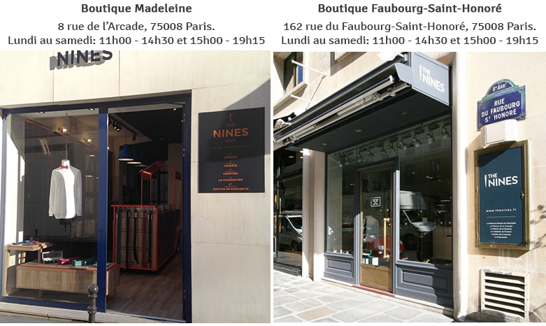 Boutiques THE NINES