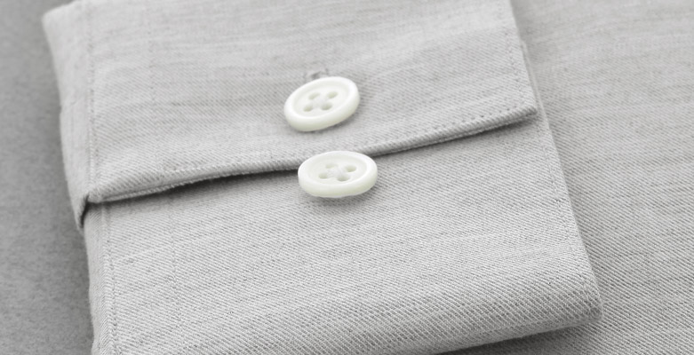 Boutons de chemise nacre