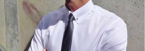 chemise pin collar