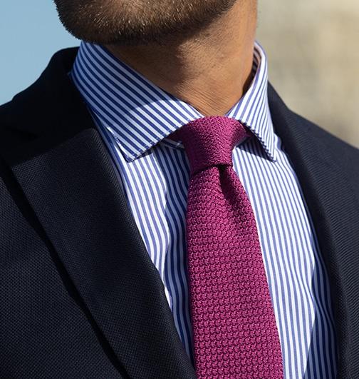 col italien cravate