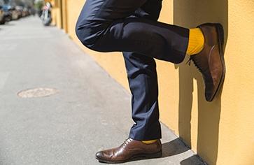 543f98d0286de Comment porter vos chaussettes avec élégance - The Nines
