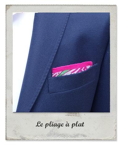 Pochette Costume Conseils Et Pliages The Nines